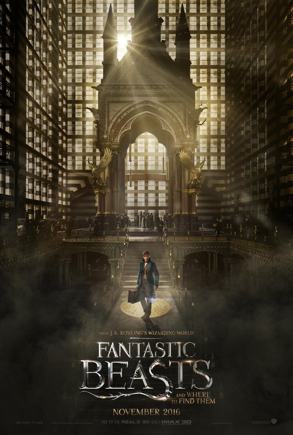 Fantastic Beasts and Where to Find them - Official poster