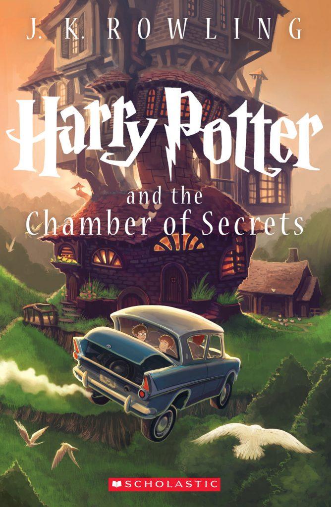 Chamber of Secrets cover by Kazu Kibuishi