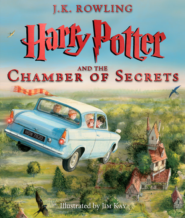 Cover of Harry Potter and the Chamber of Secrets - Illustrated Edition