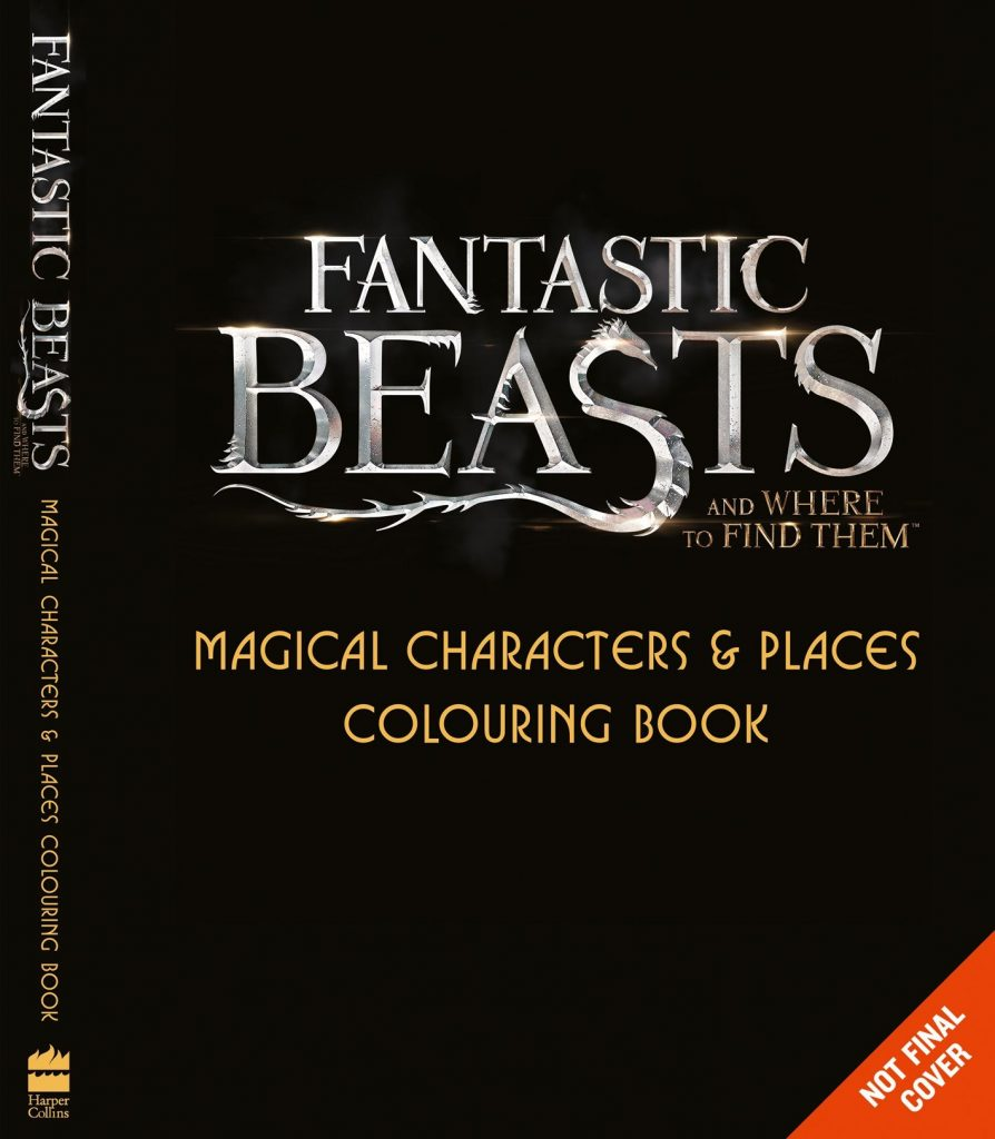 Magical Characters & Places Colouring Book