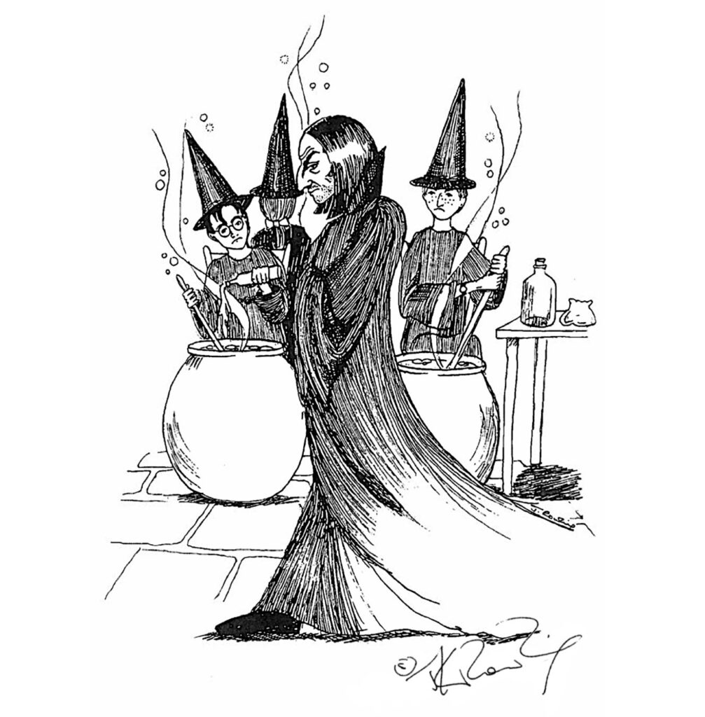 Severus Snape, by J.K. Rowling