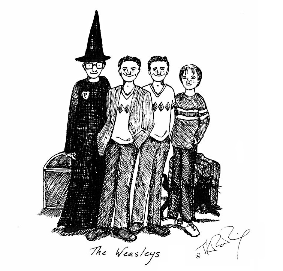 The Weasleys, by J.K. Rowling