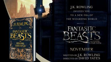 Fantastic Beasts and Where to Find Them Cover Announcement