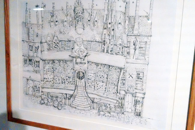 Diagon Alley (Sketch)