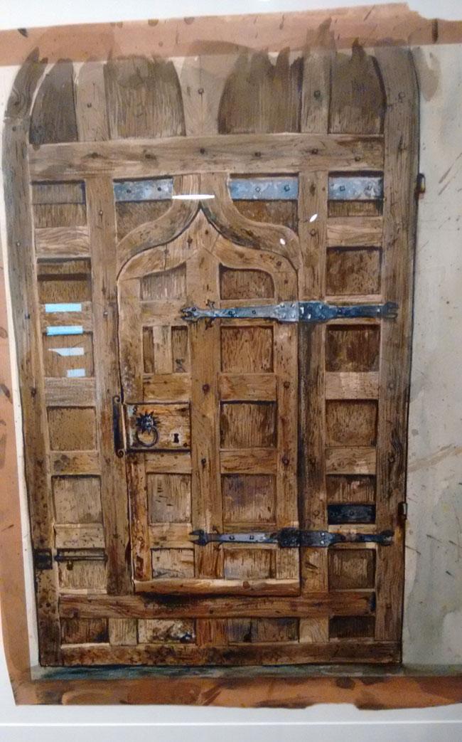Hogwarts Door