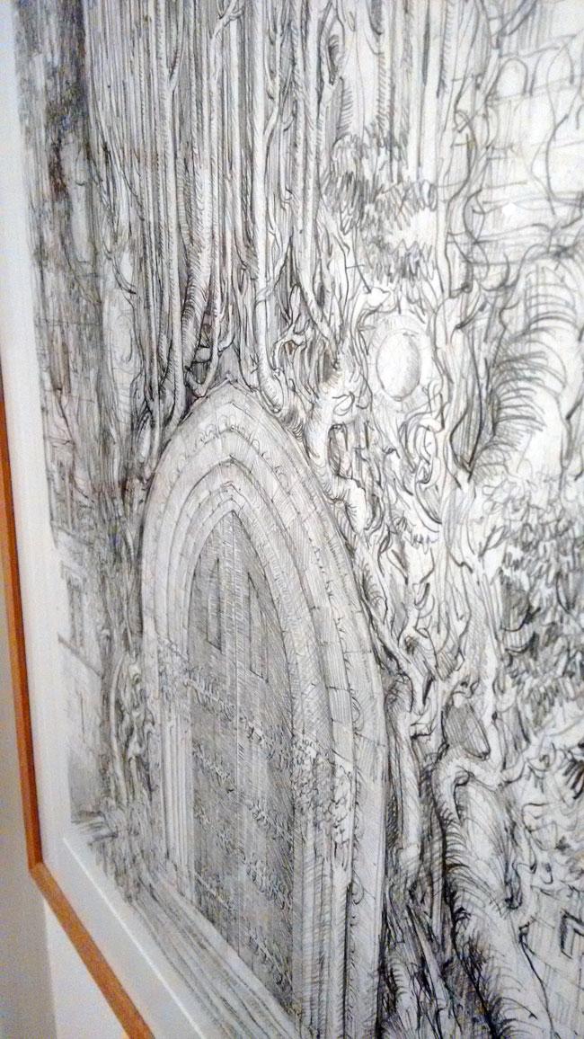 Hogwarts Door (Sketch)