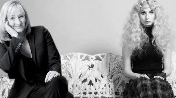 Emmi & J.K. Rowling (Photomontage)