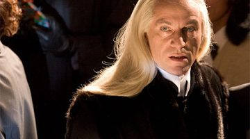 Jason Isaacs as Lucius Malfoy