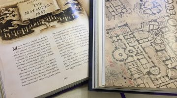 The Marauder's Map by Jim Kay