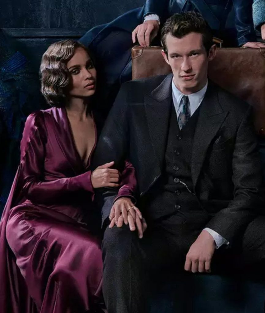 Crimes of Grindelwald: Theseus Scamander and Leta Lestrange.