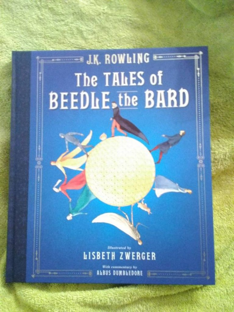 Cover for American Edition of The Tales of Beedle the Bard (Illustrated)