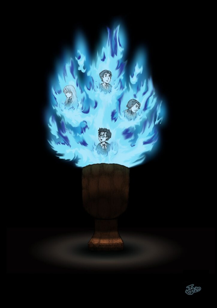 The Goblet of Fire - By Juan Anachuri