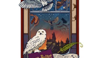 designed by MinaLima in celebration of the first virtual Back to Hogwarts.