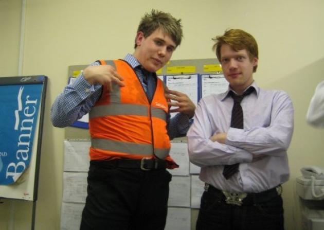 Rob and Aaron