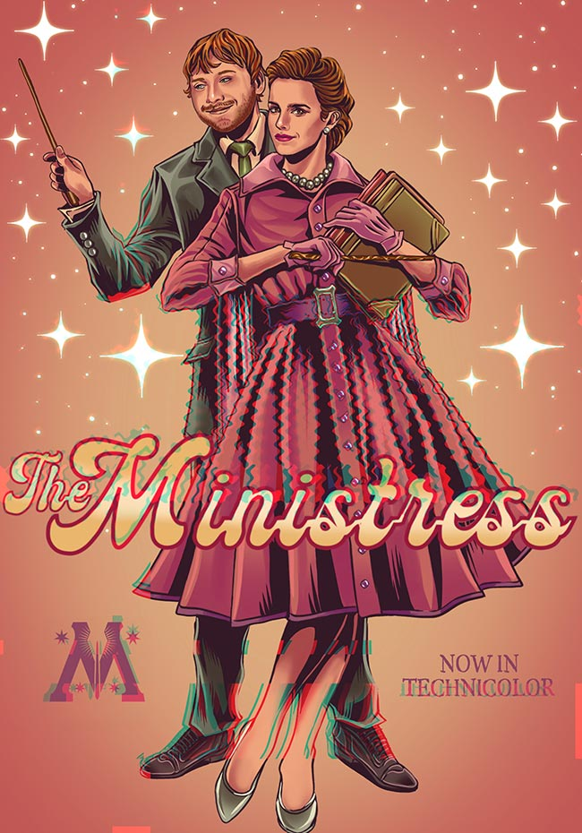 The Ministress - Illustration by Fausto Giurescu