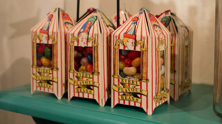 Packages for Bertie Botts' Every Flavour Beans designed by Ruth