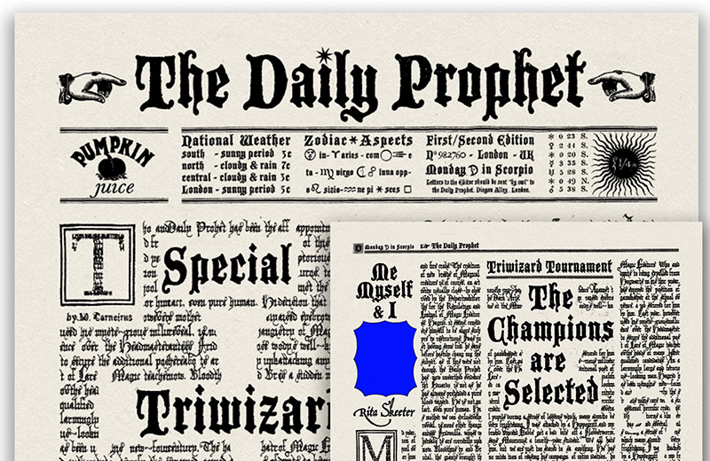 The Daily Prophet - Harry Potter and the Goblet of Fire
