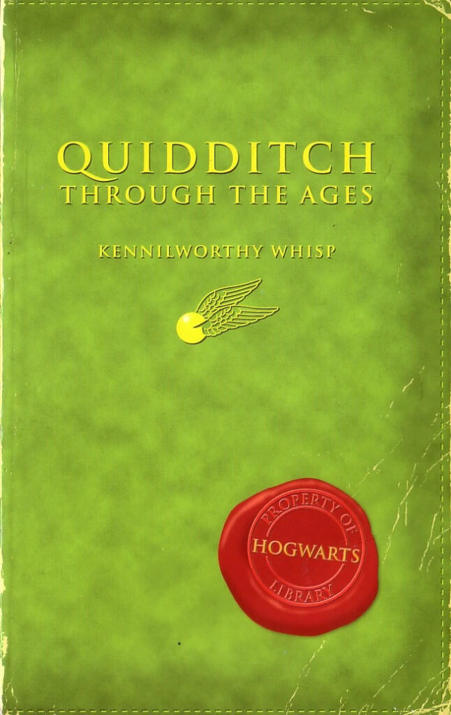Quidditch Through the Ages - Book cover by Richard Horne