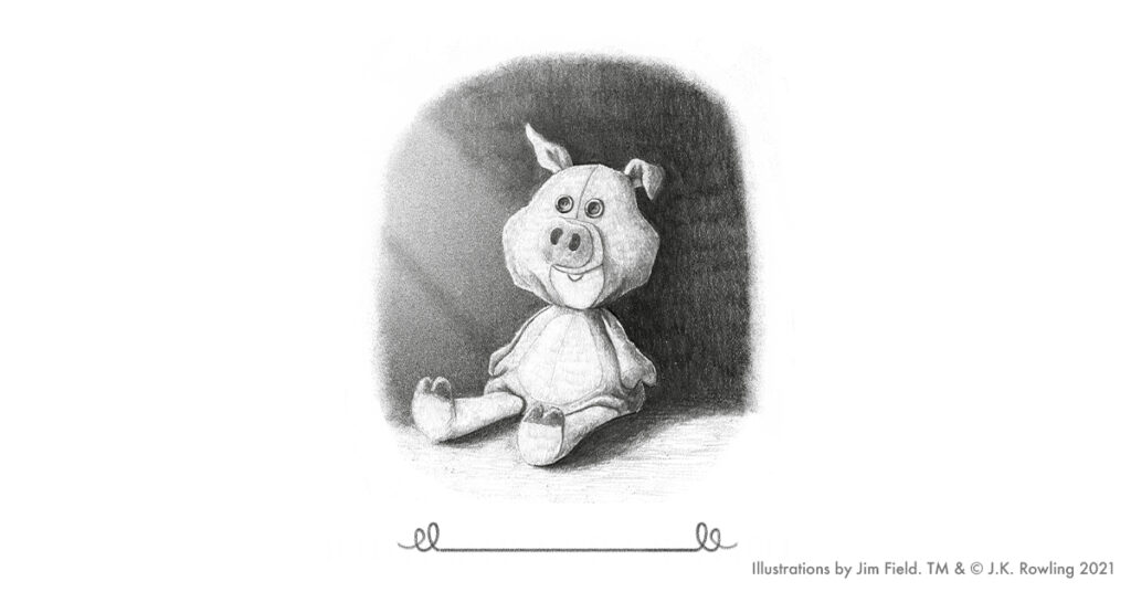 The Christmas Pig - Illustration by Jim Field